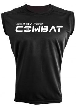 Camiseta deportiva sin mangas ready for combat