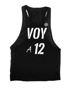 Camiseta gym VOY A 12 REPETICIONES N